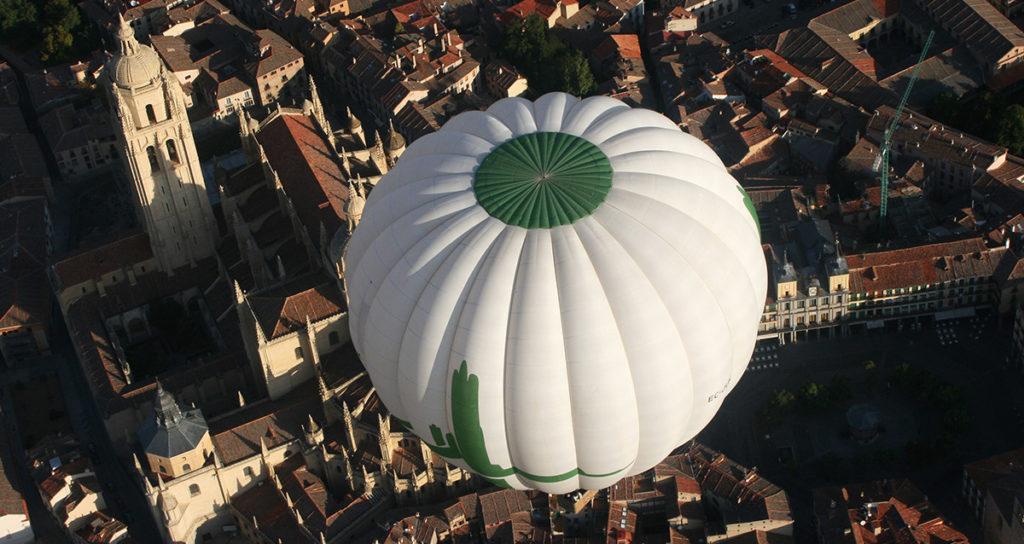 Ein Ballonflug über die kastilische Hochebene für incentivereisen in Spanien