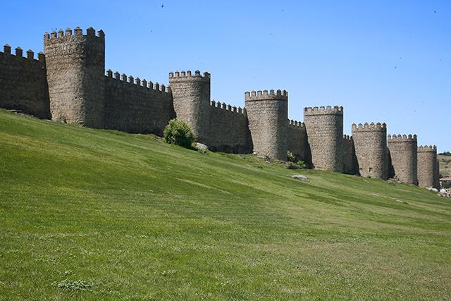 Avila- Stadtmauer bres