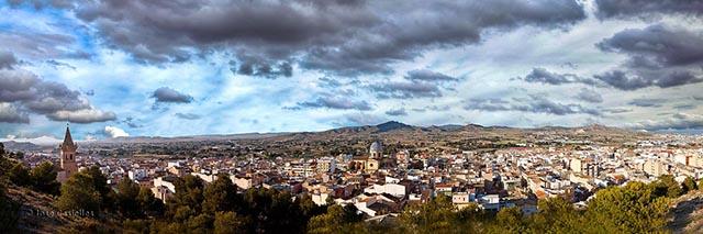 Yecla panoramica