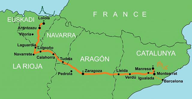 Camino IgnacioLoyola